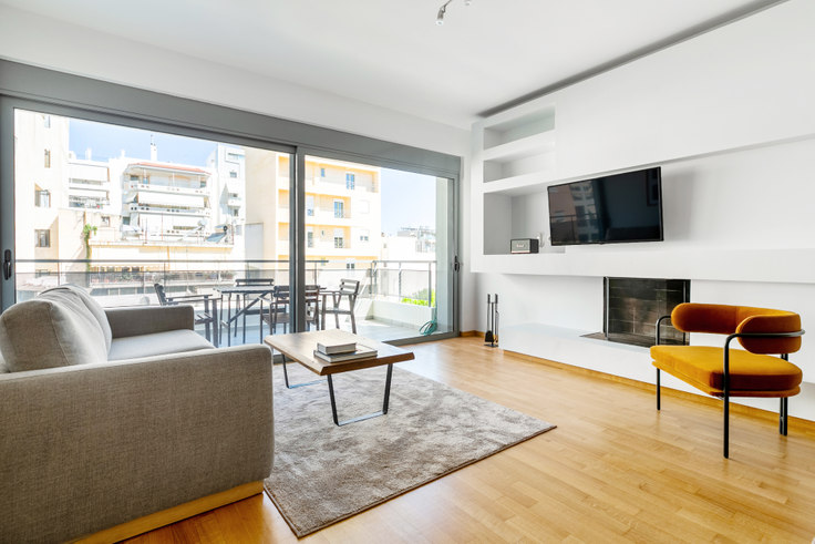 2 bedroom furnished apartment in Voutieridou 887, Neo Psychiko, Athens, photo 1