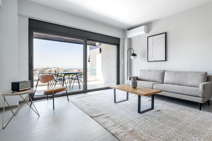 2 bedroom furnished apartment in Pontou II 889, Elliniko, Athens, photo 1