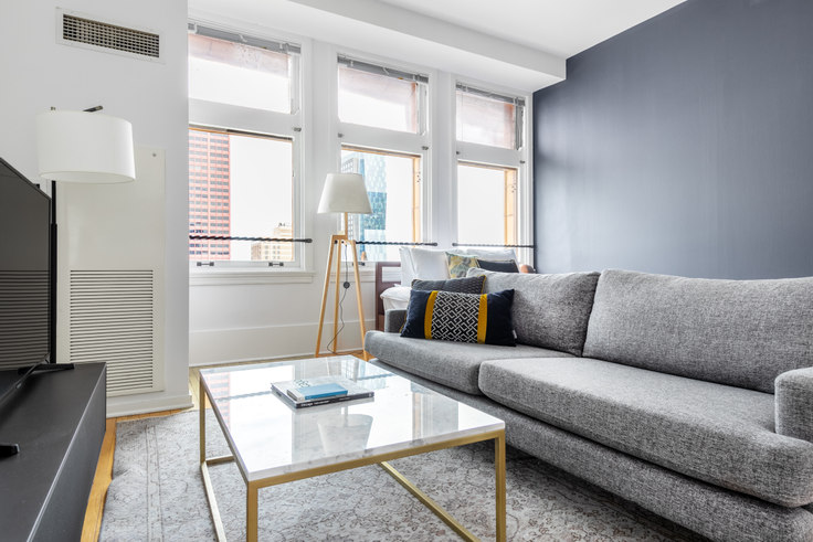 Studio furnished apartment in Fisher, 343 S Dearborn St 300, The Loop, Chicago, photo 1