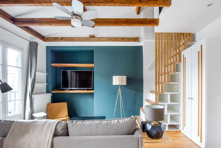 1 bedroom furnished apartment in Boulevard Morland 28, Bastille, Paris, photo 1