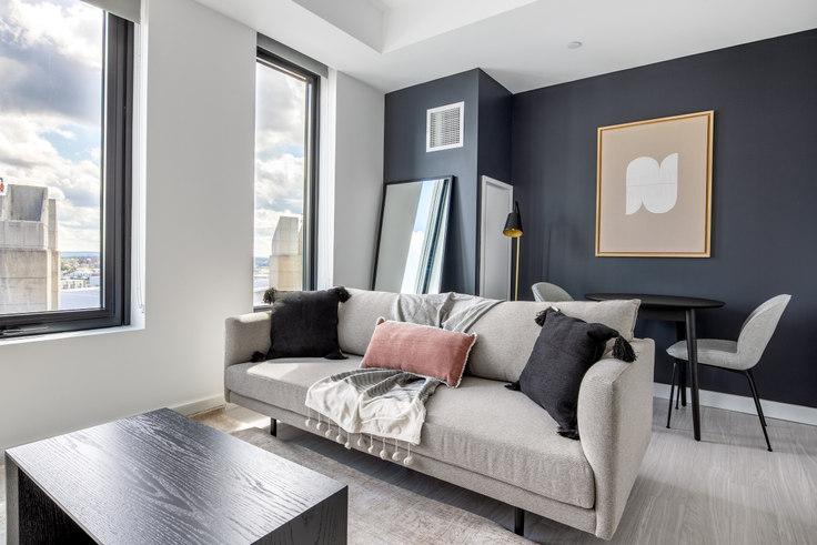 Studio furnished apartment in 399 Congress St, NEMA 278, Seaport, Boston, photo 1