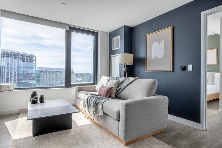 1 bedroom furnished apartment in 399 Congress St, NEMA 279, Seaport, Boston, photo 1