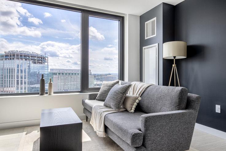 1 bedroom furnished apartment in 399 Congress St, NEMA 280, Seaport, Boston, photo 1