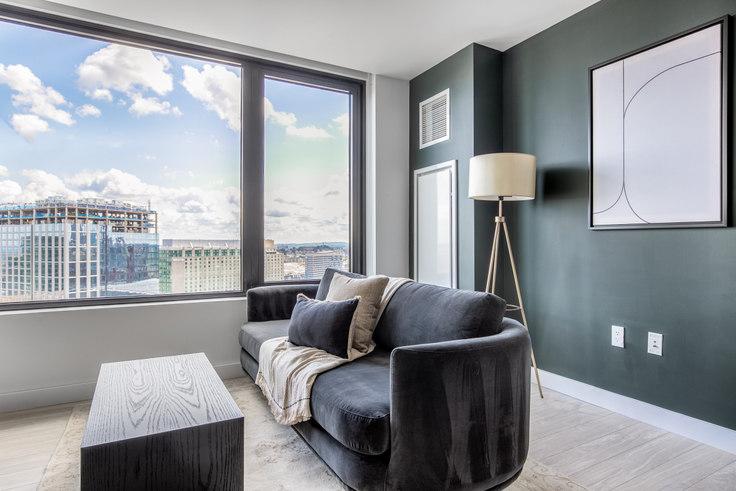 1 bedroom furnished apartment in 399 Congress St, NEMA 281, Seaport, Boston, photo 1