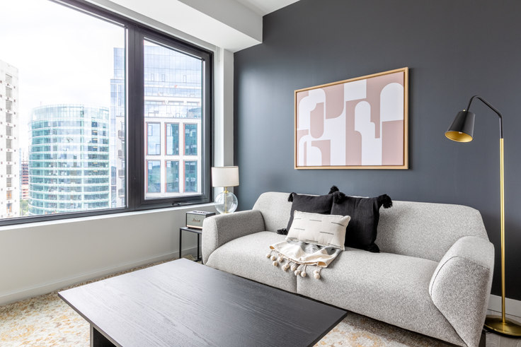1 bedroom furnished apartment in 399 Congress Street, NEMA 282, Seaport, Boston, photo 1