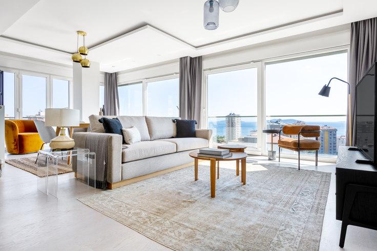 3 bedroom furnished apartment in Dostlar - 529 529, Caddebostan, Istanbul, photo 1