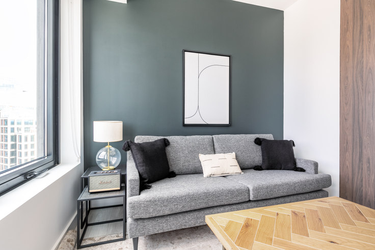 1 bedroom furnished apartment in 399 Congress St, NEMA 283, Seaport, Boston, photo 1