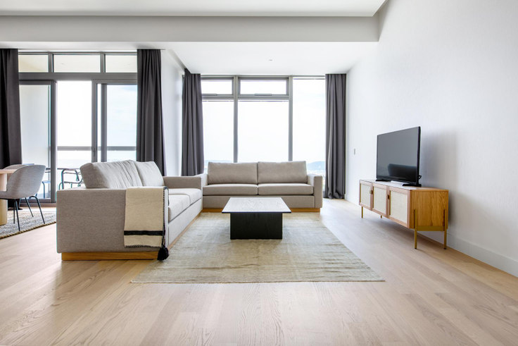 2 bedroom furnished apartment in 42 Maslak Tower B - 541 541, Maslak, Istanbul, photo 1