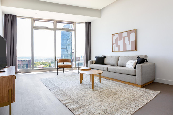 1 bedroom furnished apartment in 42 Maslak Tower B - 545 545, Maslak, Istanbul, photo 1