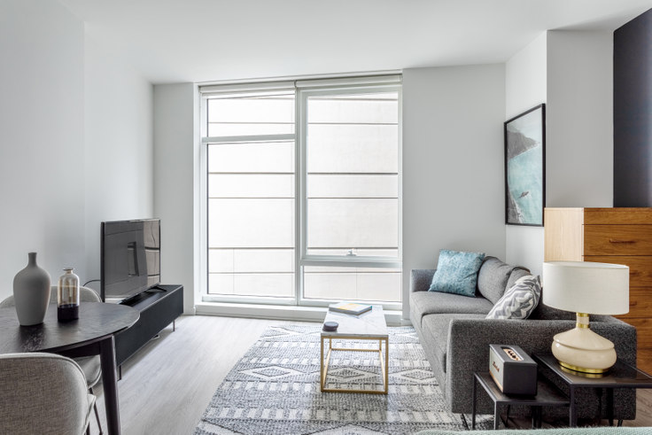 Studio furnished apartment in NEMA SF North Tower, 8 10th St 355, SoMa, San Francisco Bay Area, photo 1