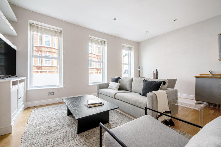 1 bedroom furnished apartment in Paddington Street 25, Marylebone, London, photo 1
