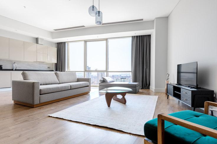 2 bedroom furnished apartment in Metropol İstanbul - 549 549, Doğu Ataşehir, Istanbul, photo 1