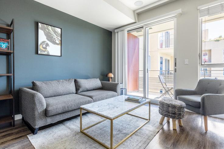 1 bedroom furnished apartment in Radius, 680 S Berendo St 323, Koreatown, Los Angeles, photo 1