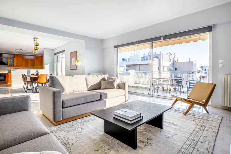 3 bedroom furnished apartment in Megistis 906, Alimos, Athens, photo 1