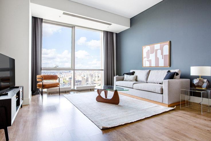 1 bedroom furnished apartment in Metropol İstanbul - 551 551, Doğu Ataşehir, Istanbul, photo 1