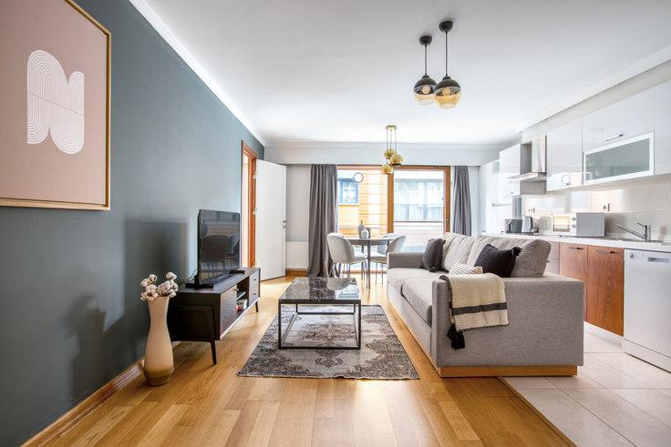 2 bedroom furnished apartment in Kalamışev - 553 553, Fenerbahçe, Istanbul, photo 1