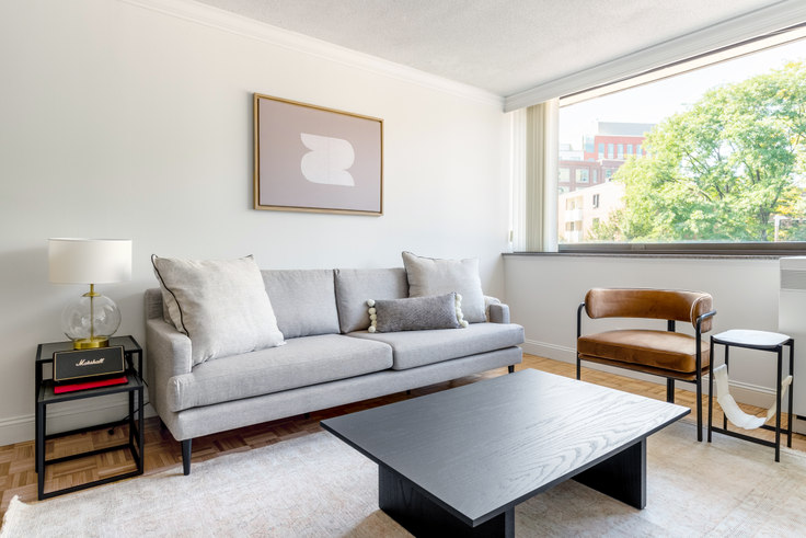 1 bedroom furnished apartment in 199 Massachusetts Ave, Church Park 289, Symphony, Boston, photo 1
