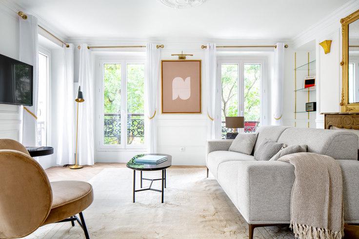 1 bedroom furnished apartment in Rue du Faubourg Saint-Honoré 33, Champs-Élysées, Paris, photo 1