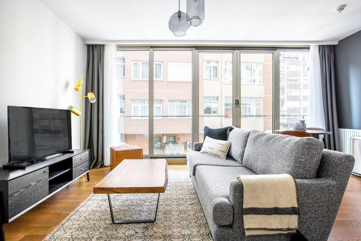 1 bedroom furnished apartment in Gayrettepe53 - 554 554, Gayrettepe, Istanbul, photo 1