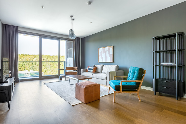 3 bedroom furnished apartment in Vadi İstanbul Park - 555 555, Ayazağa, Istanbul, photo 1
