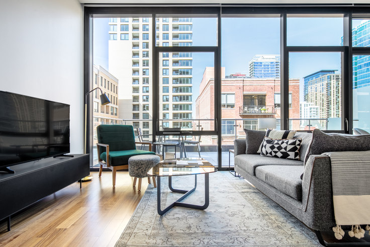 3 bedroom furnished apartment in Ardus, 676 N LaSalle Dr 323, River North, Chicago, photo 1