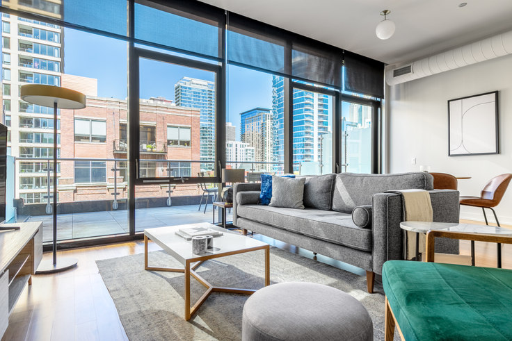 3 bedroom furnished apartment in Ardus, 676 N LaSalle Dr 324, River North, Chicago, photo 1