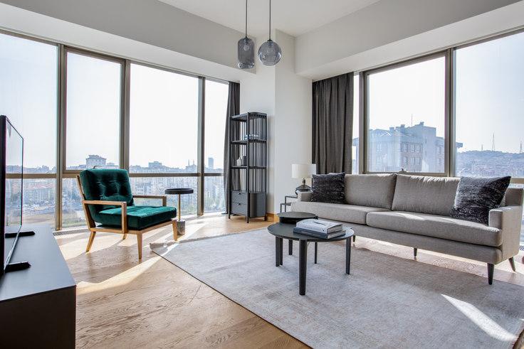 2 bedroom furnished apartment in Suryapı Exen - 556 556, Ümraniye, Istanbul, photo 1