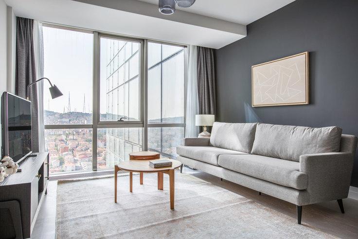1 bedroom furnished apartment in Suryapı Exen - 557 557, Ümraniye, Istanbul, photo 1