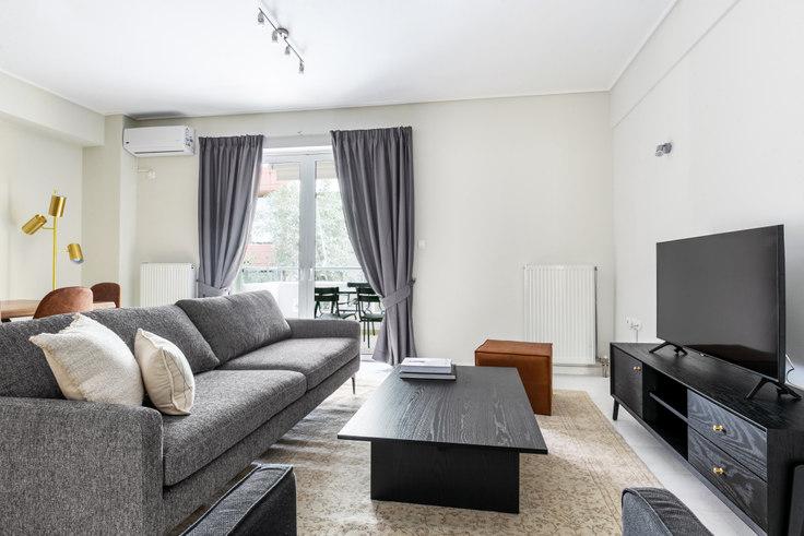 2 bedroom furnished apartment in Nikosthenous 916, Pangrati, Athens, photo 1