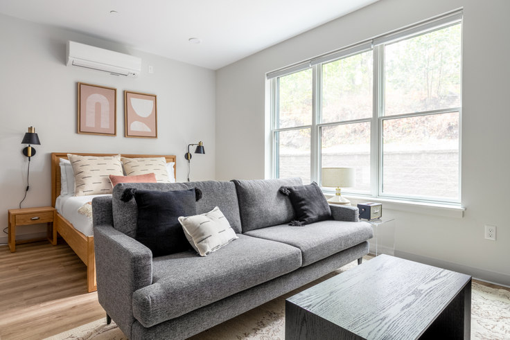 Studio furnished apartment in 233 Hancock Street, The Meeting House 306, Savin Hill Dorchester, Boston, photo 1