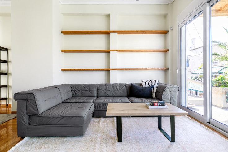 3 bedroom furnished apartment in Falirou II 918, Koukaki, Athens, photo 1
