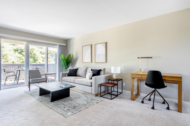 1 bedroom furnished apartment in The Markham, 10870 N Stelling Rd 371, Cupertino, San Francisco Bay Area, photo 1