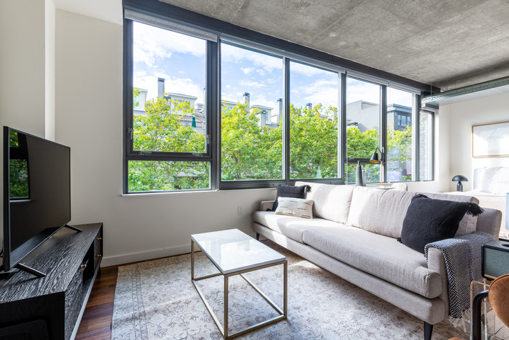 Studio furnished apartment in The Nolo, 520 Occidental Ave S 42, Pioneer Square, Seattle, photo 1