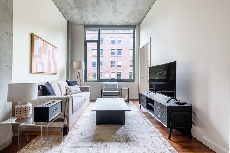 1 bedroom furnished apartment in The Nolo, 520 Occidental Ave S 43, Pioneer Square, Seattle, photo 1