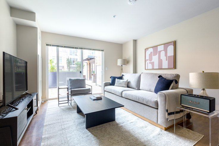 2 bedroom furnished apartment in The Lyric, 215 10th Ave E 45, Capitol Hill, Seattle, photo 1