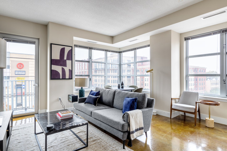 2 bedroom furnished apartment in Highland Park, 1400 Irving St NW 224, Columbia Heights, Washington D.C., photo 1