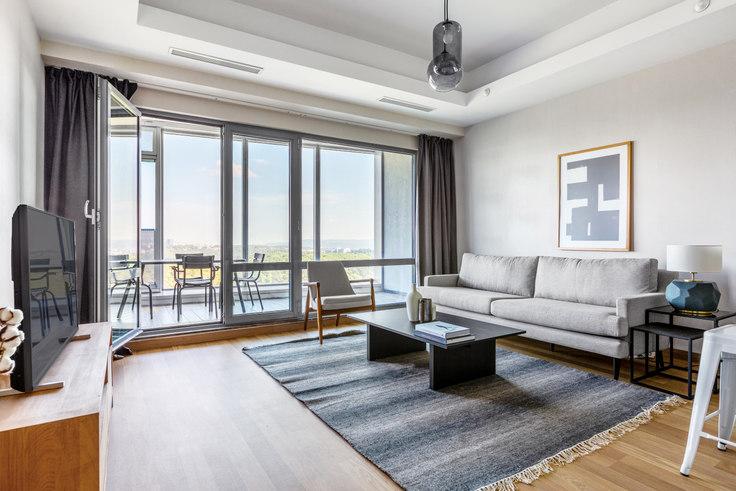 2 bedroom furnished apartment in Maslak 1453 - 563 563, Maslak, Istanbul, photo 1
