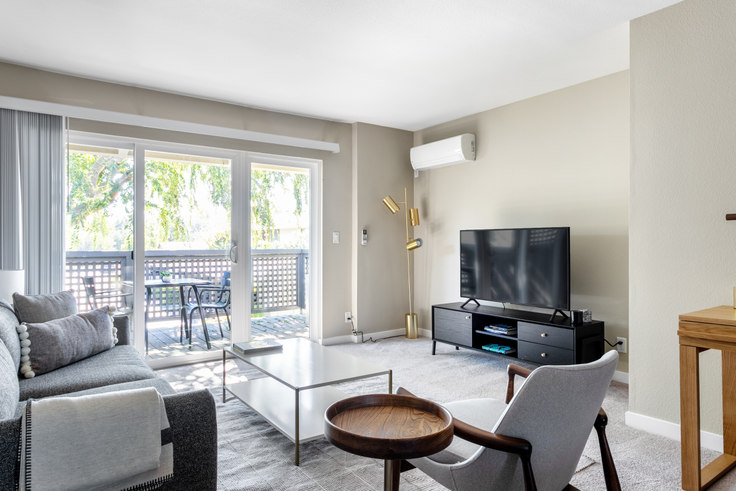 2 bedroom furnished apartment in The Markham, 10870 N Stelling Rd 374, Cupertino, San Francisco Bay Area, photo 1
