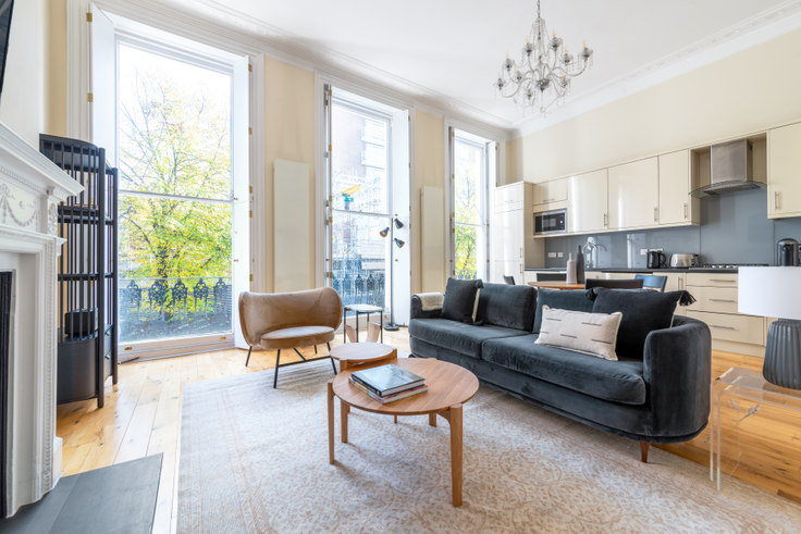 1 bedroom furnished apartment in Montagu St 31, Marylebone, London, photo 1