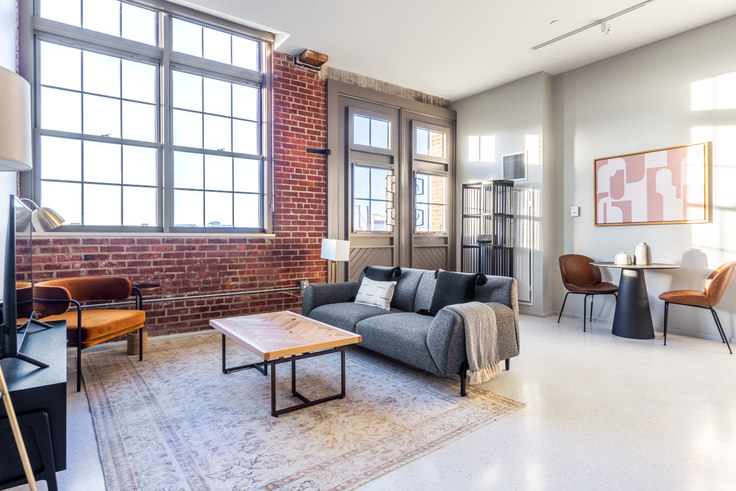1 bedroom furnished apartment in 275 Medford St 307, Charlestown, Boston, photo 1