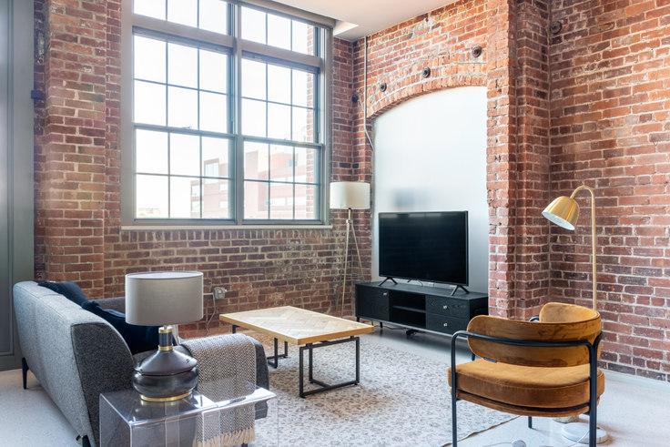 Studio furnished apartment in 275 Medford St 308, Charlestown, Boston, photo 1
