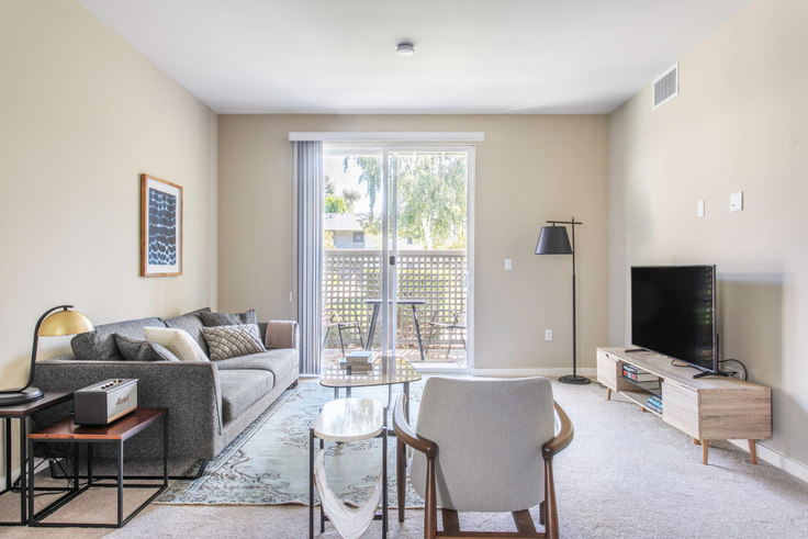 1 bedroom furnished apartment in The Markham, 10870 N Stelling Rd 382, Cupertino, San Francisco Bay Area, photo 1