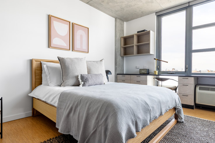Studio furnished apartment in SoNu Digs, 1515 N Fremont St 327, Lincoln Park, Chicago, photo 1