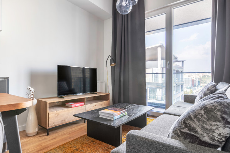 1 bedroom furnished apartment in Seba Suites - 569 569, Kagithane, Istanbul, photo 1