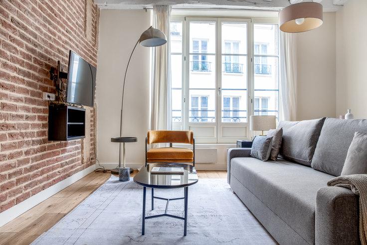 1 bedroom furnished apartment in Rue des Rosiers 37, Le Marais - Saint-Paul, Paris, photo 1