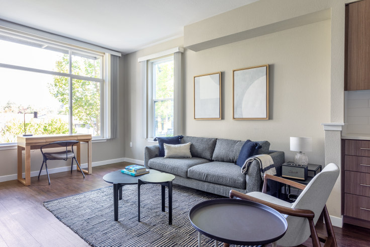 1 bedroom furnished apartment in Madrone Apartments, 111 Rengstorff Ave 385, Mountain View, San Francisco Bay Area, photo 1