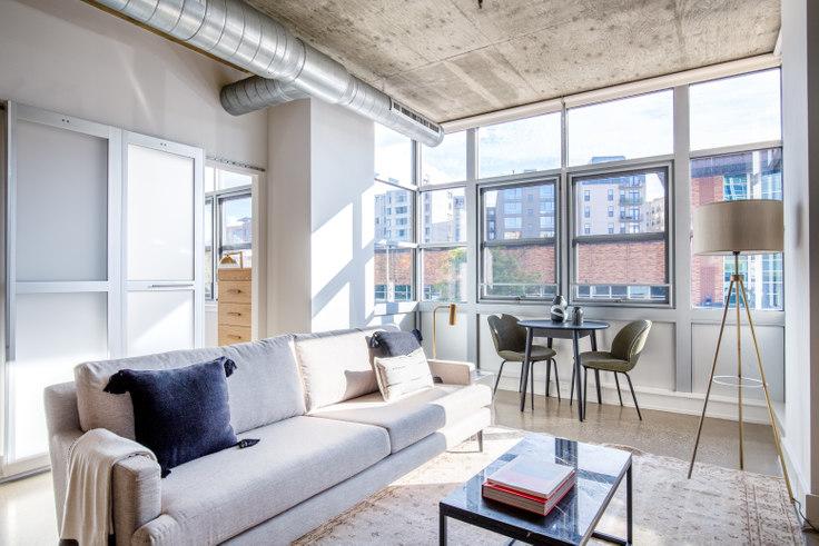 1 bedroom furnished apartment in DeSoto, 1445 P St NW 227, Logan Circle, Washington D.C., photo 1