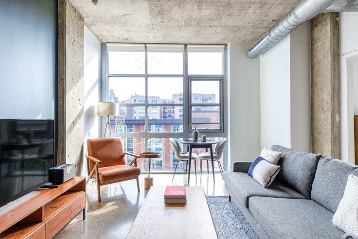 1 bedroom furnished apartment in DeSoto, 1445 P St NW 228, Logan Circle, Washington D.C., photo 1