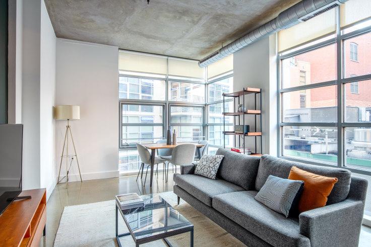 2 bedroom furnished apartment in DeSoto, 1445 P St NW 229, Logan Circle, Washington D.C., photo 1