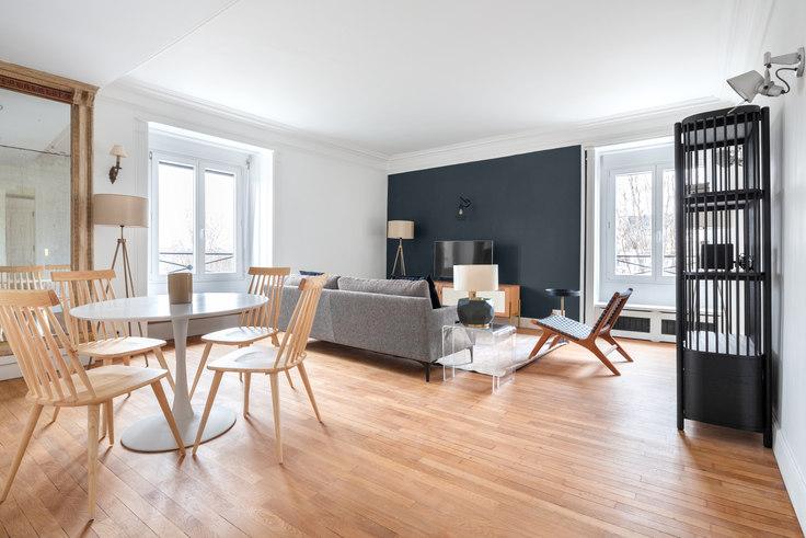 2 bedroom furnished apartment in Quai de Bourbon 41, Île Saint-Louis, Paris, photo 1